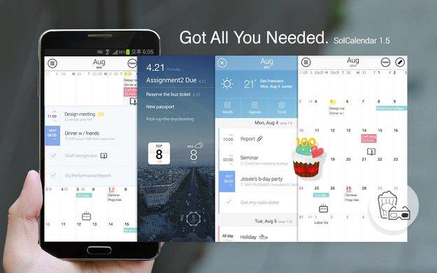 SolCalendar: Elegante und vielseitige Kalender-App im Kurztest