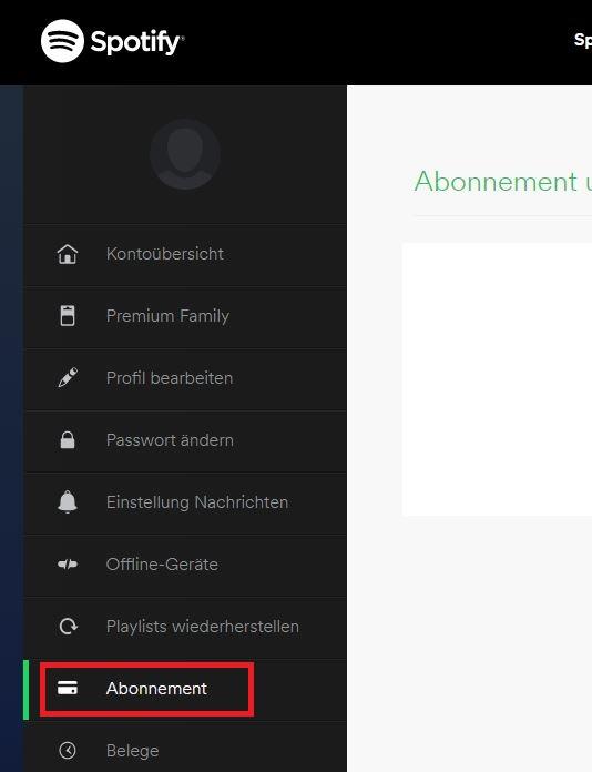 du kannst spotify premium nicht in dieser app abonnieren