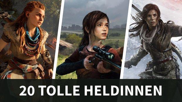 Von Aloy bis Lara Croft: 20 coole Videospiel-Heldinnen