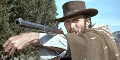Clint Eastwood in Zwei glorreiche Halunken