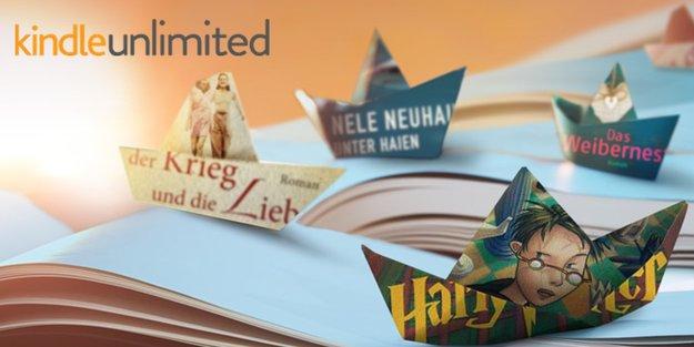 Kindle Unlimited: Amazons E-Book-Flatrate startet in Deutschland und Österreich