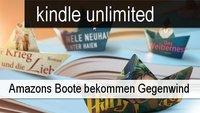 Amazons Kindle-Flatrate unlimited macht nicht alle Autoren glücklich