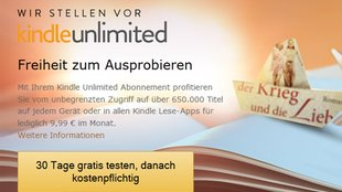 "Amazon: E-Book-Flatrate ""Kindle Unlimited"" jetzt auch in Deutschland"