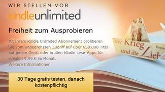 "Amazon: E-Book-Flatrate ""Kindle Unlimited"" jetzt auch in Deutschland"