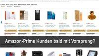 Amazon Prime Kunden mit Startvorteil bei Blitzangeboten?