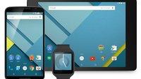 Neuerungen in Android 5.0 Lollipop (3): Neue Entsperr-Optionen, neues Verhalten bei WLAN ohne Internetverbindung und Teilen-Menü