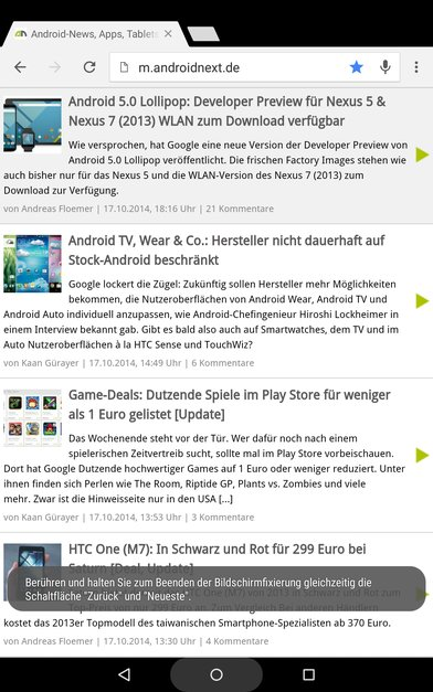 android-5.0-lollipop-developer-preview-features-bildschirm-anheften-beispiel