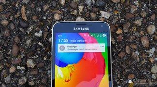 Samsung Galaxy S5: Android L mit TouchWiz-UI im Video demonstriert
