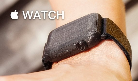 Apple Watch für den 3D-Drucker: Zur Anprobe bitte (Vorlage zum Download)