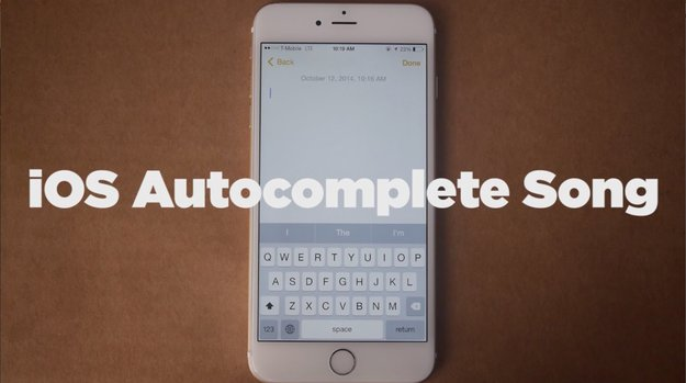 Video des Tages: iOS Autocomplete Song