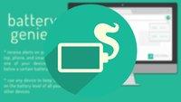 Battery Genie: Akkustand der Android-Geräte im Browser anzeigen