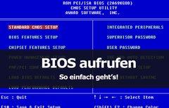 BIOS starten - Wie komme ich...