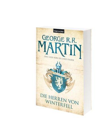 Das neue Design der ins Deutsche übersetzten Buchreiche: Die Herren von Winterfell. Wer des Englischen mächtig ist, sollte aber auf jeden Fall zur Originalausgabe greifen.