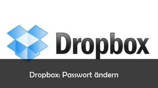 Dropbox: Passwort ändern – so geht's