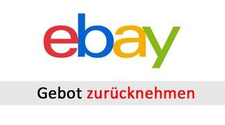 eBay-Gebot zurücknehmen & zurückziehen – so geht's