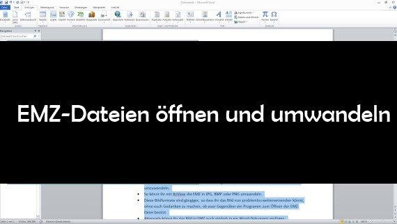 EMZ-Datei öffnen und umwandeln: so geht's mit Freeware