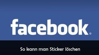 Facebook-Sticker löschen: so geht's