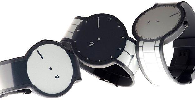 FES Watch: Smartwatch mit E-Ink-Display im Armband wird dank Crowfunding Realität