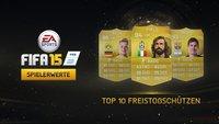 FIFA 15: Die besten Freistoßschützen im Überblick