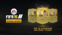 FIFA 15: Die besten Nationalmannschaften (Europa)