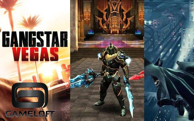 Gameloft-Spiele: Batman - The Dark Knight Rises, Wild Blood &amp&#x3B; weitere aktuell für nur 10 Cent