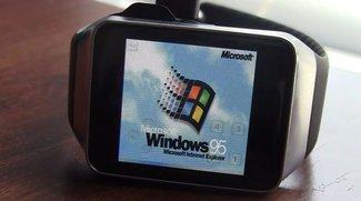 Samsung Gear Live läuft mit Windows 95 (Video)
