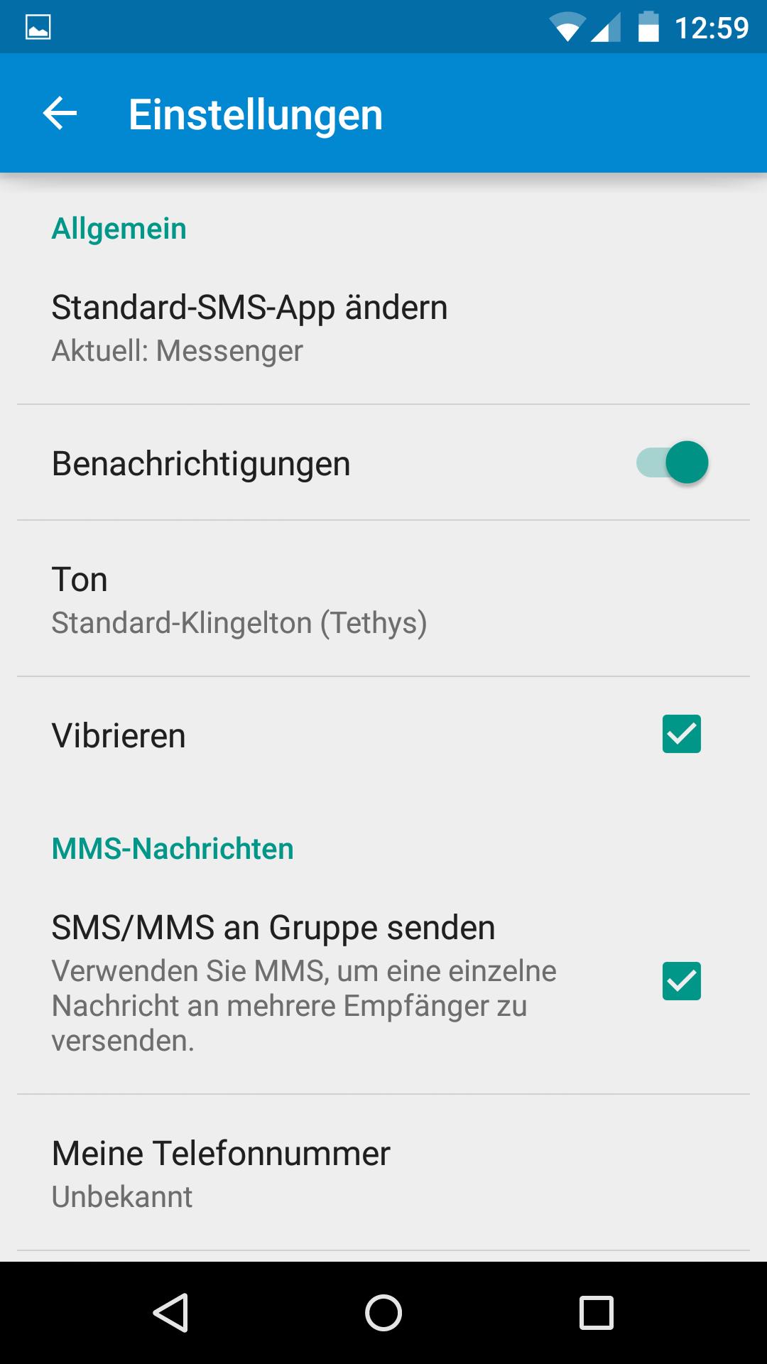 Google Messenger: SMS-App aus Android 5 0 Lollipop kann