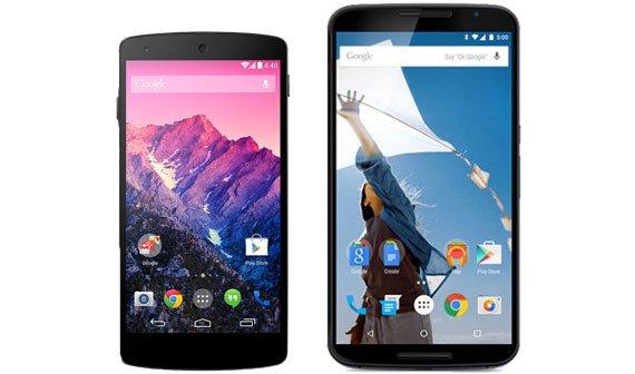 Nexus 6 vs. Nexus 5: Technische Daten im Vergleich