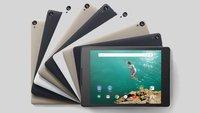 Google Nexus 9 ist offiziell: Video, Datenblatt und Bilder