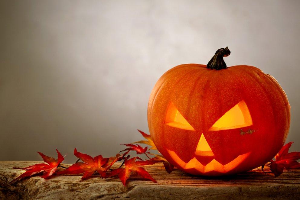 Unzertrennlich: Halloween und Kürbisse