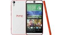 HTC Desire Eye: Smartphone mit 13 MP-Selfie-Kamera & Frontblitz geleakt