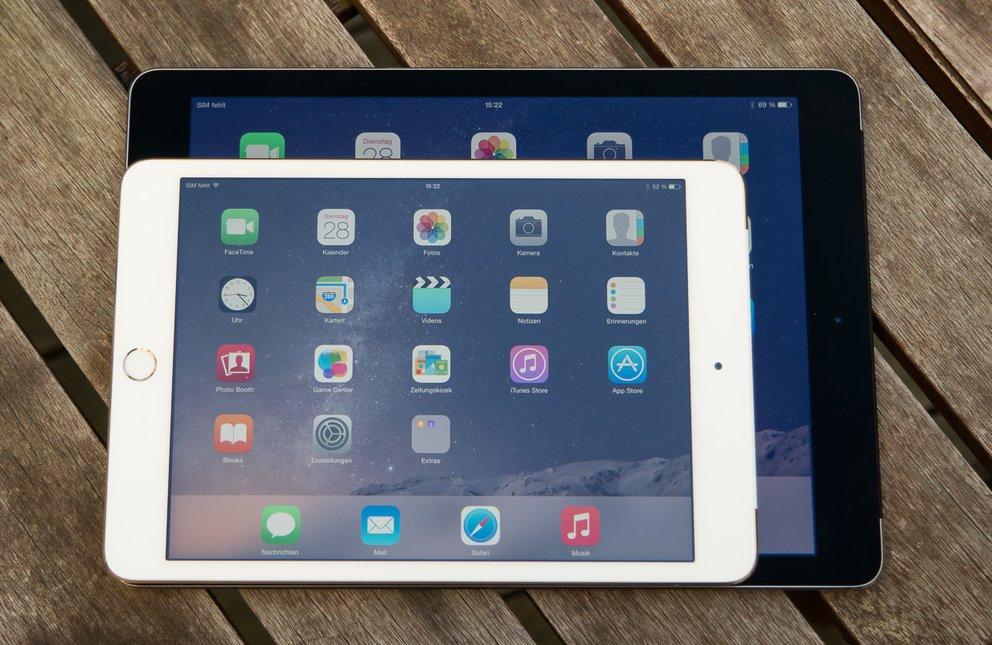 Die bisherigen iPads werden noch im Frühjahr Nachfolger bekommen.