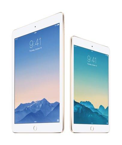 iPad Air 2 (links) und iPad mini 3 (rechts).