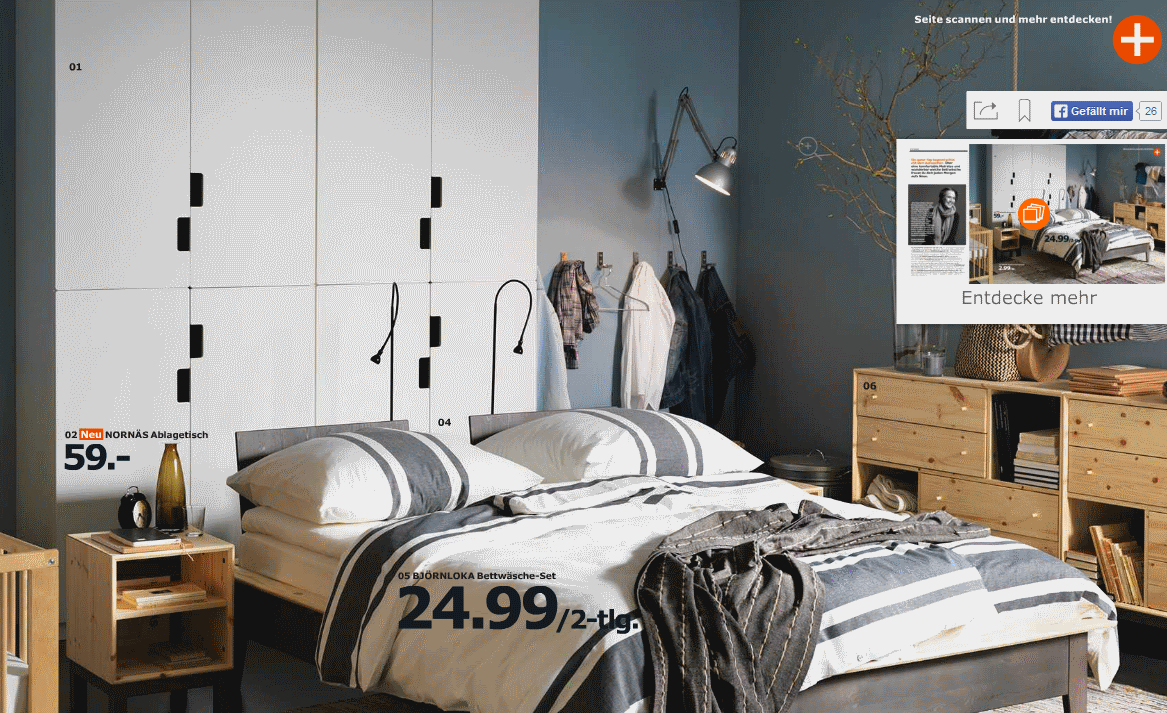 im ikea katalog 2016 online bl ttern pdf und in der app. Black Bedroom Furniture Sets. Home Design Ideas