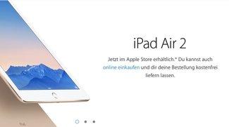 iPad Air 2 und iPad mini 3: Jetzt vor Ort in den Apple Stores erhältlich