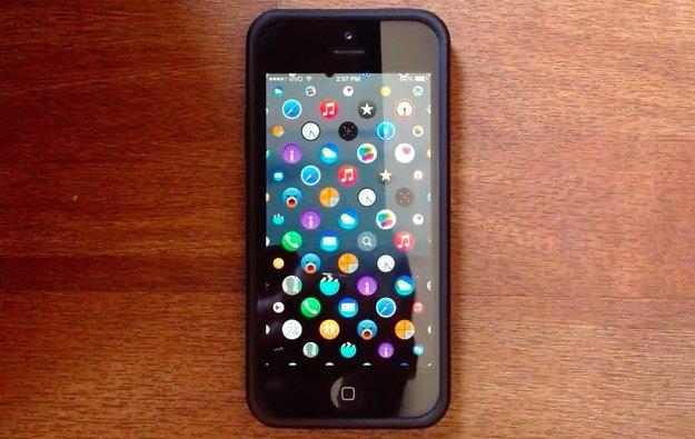 Simulation: Wie die Apple-Watch-Oberfläche auf einem iPhone aussieht