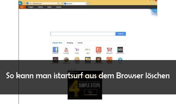 istartsurf entfernen aus Chrome, IE, Firefox und Co. – Anleitung