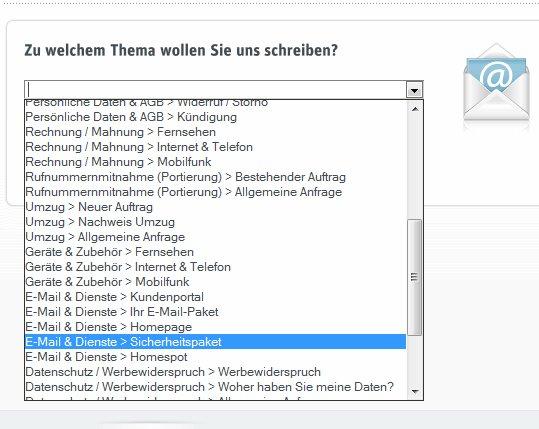 kabel deutschland sicherheitspaket - Kundigung Kabel Deutschland Muster
