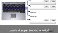 Launch Manager bei Notebooks: Download und Funktion