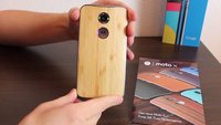 Moto X (2014): Moto Maker-Modell im Unboxing-Video