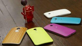 Motorola: Update auf Android 5.0 Lollipop steht kurz bevor