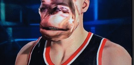 NBA 2K15: Facescan des Grauens - die Basketball-Horror-Show