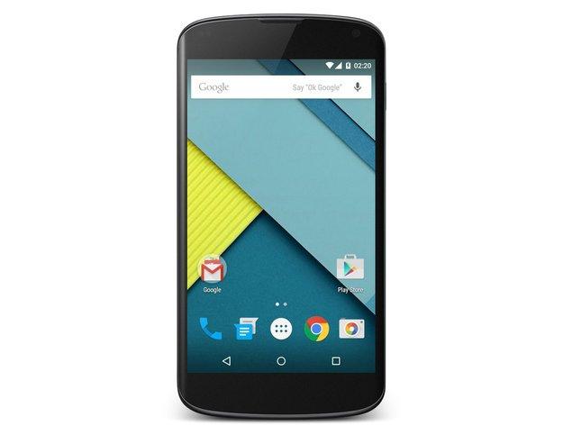 Nexus 4: Erhält nicht alle Kamera-Features von Android 5.0 Lollipop