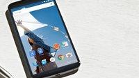 Nexus 6: Phablet ursprünglich mit Tap-to-Wake-Funktion – von Google bewusst deaktiviert