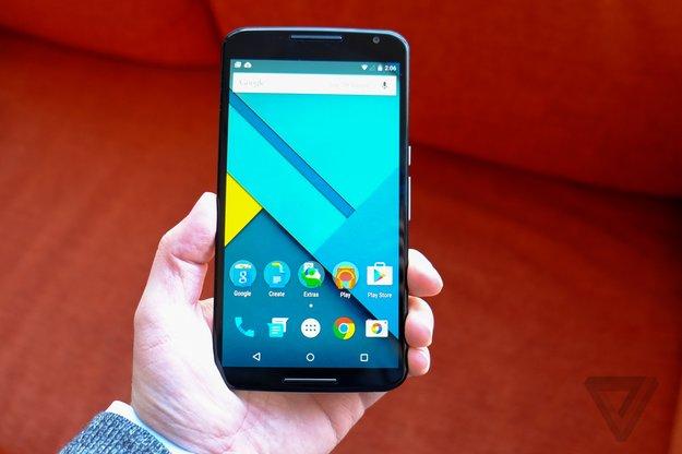 Nexus 6: Google-Phablet in Hands-On-Videos & im Größenvergleich mit Note 4 und Co.