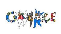 Niki de Saint Phalle: Die drei Grazien im Google Doodle