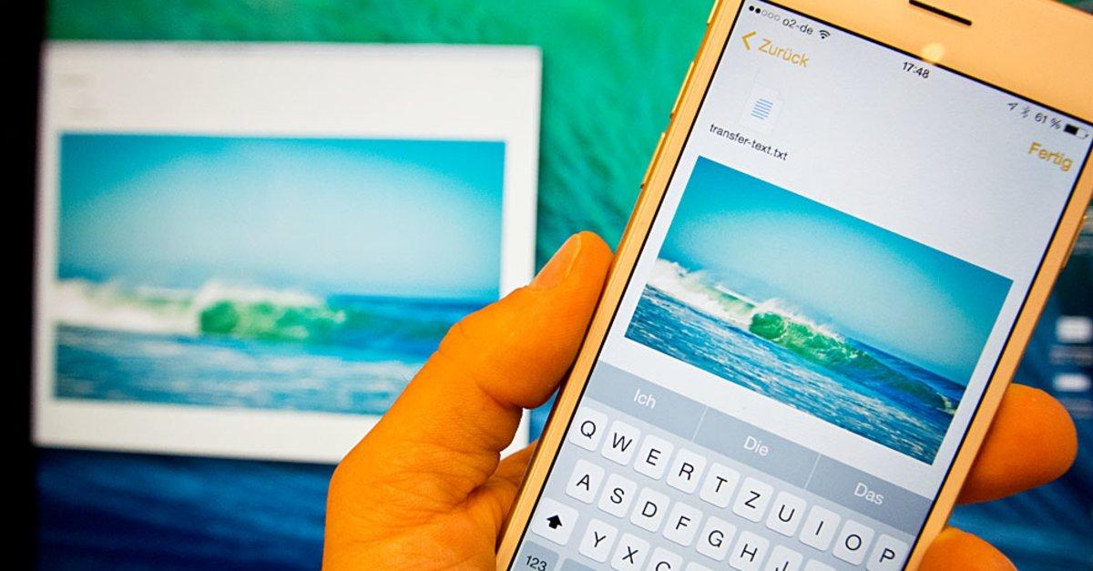 tipp notizen app von iphone und mac zum dateitransfer. Black Bedroom Furniture Sets. Home Design Ideas