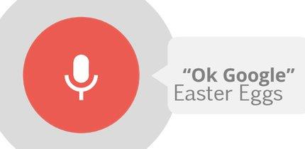 Okay Google: 21 Easter Eggs für Google Now