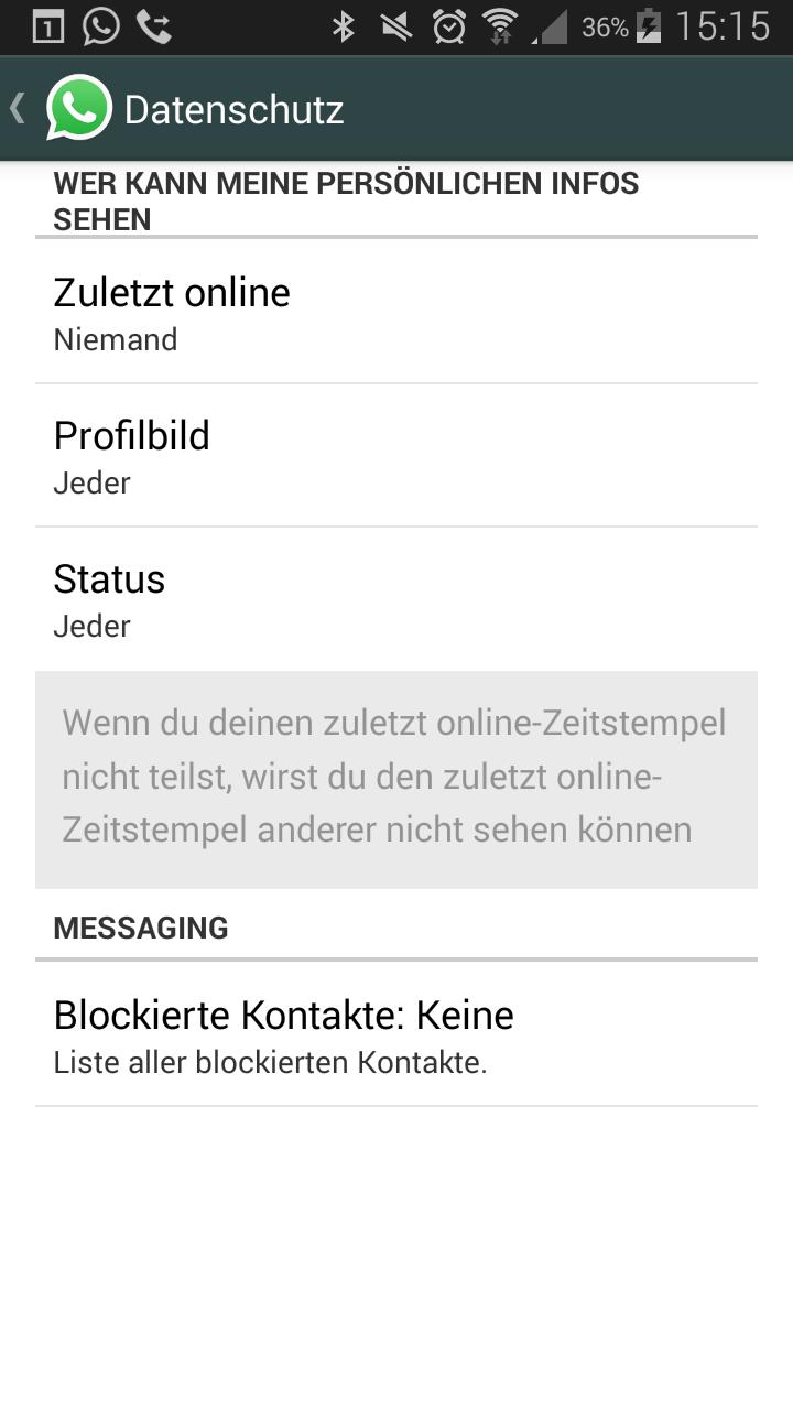 Whatsapp Status Kann Nicht Sehen Whatsapp Status Ist Da