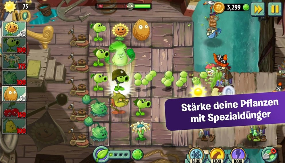 pflanzen gegen zombies 2 spielen kostenlos